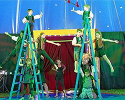 Zirkusprojekt an der Grundschule Fürstätt